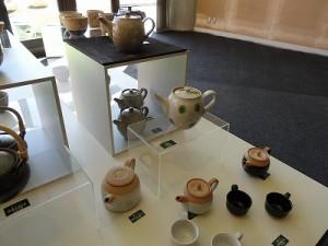 朝宮茶と信楽焼の茶の器展