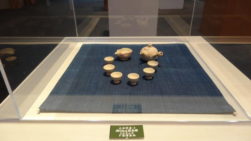 朝宮茶と信楽焼の茶の器展 開催中