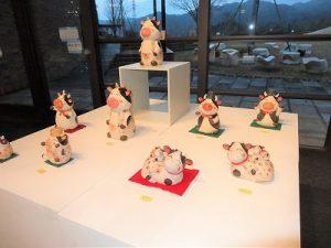 信楽焼の動物展